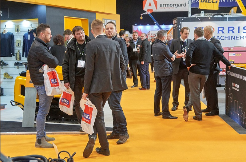 New machinery takes centre stage at the EHS 2019