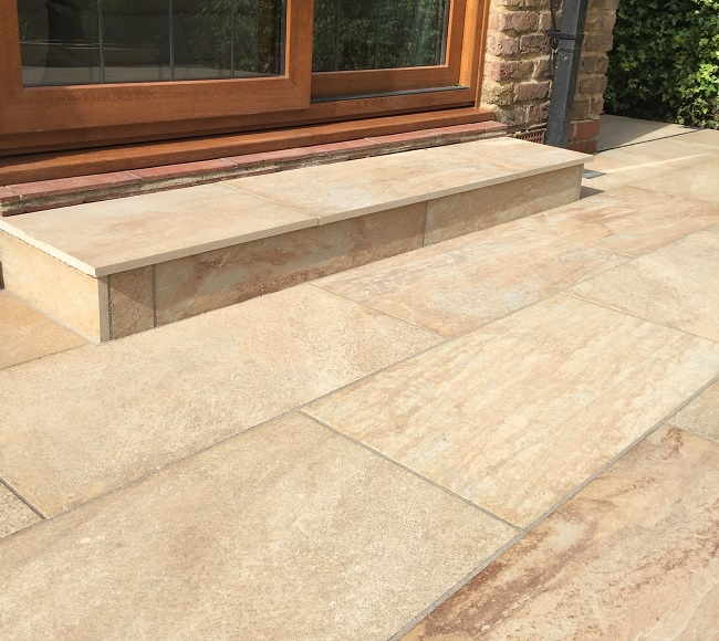 Porcelain tiles for top quality patio