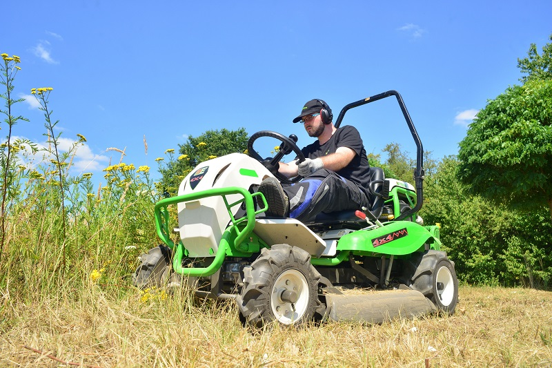 Etesia launch new Attila 98X ride-on brushcutter