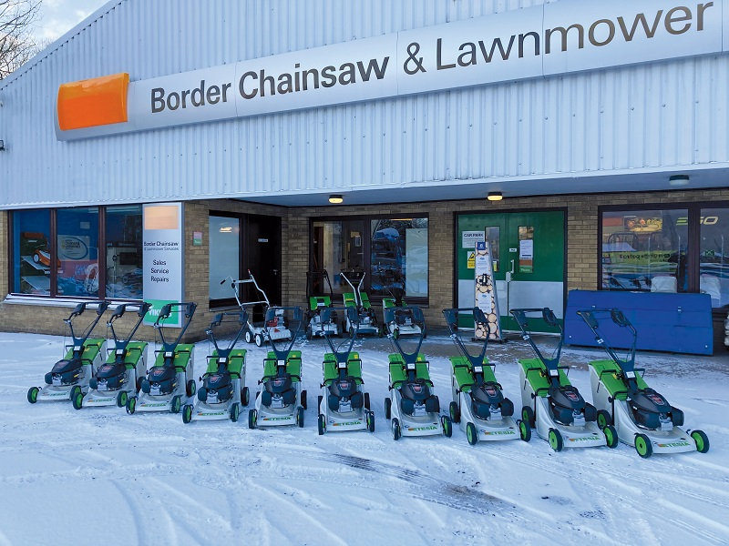 New Etesia dealer in the Scottish Borders