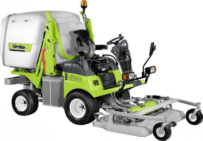 Grillo exhibit new out front mower