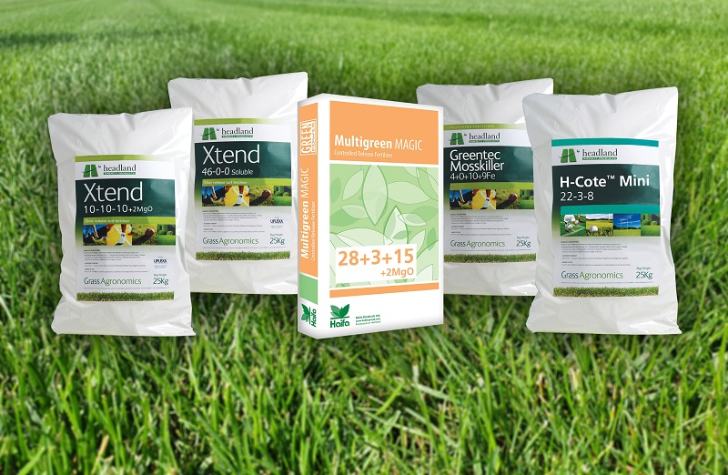 Headland's range of specialist fertilisers bring strength and control to new season growth
