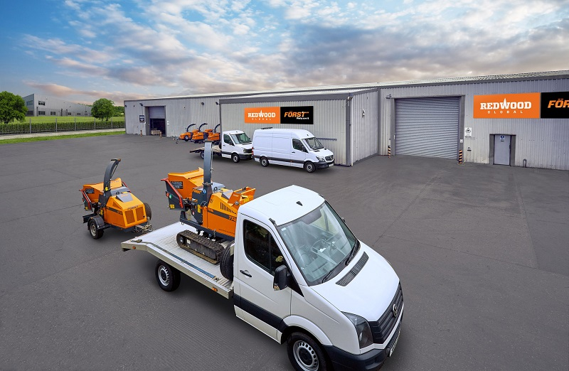 Först woodchipper distribution expands into Belgium