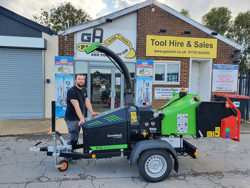 GA Plant take delivery of first GreenMech EVO 165P SUB-750