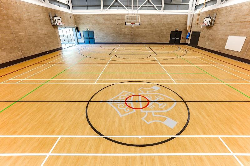 World class Taraflex flooring for Becket Keys School