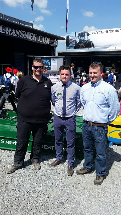 Spearhead announces support to Grassmen charity of the year