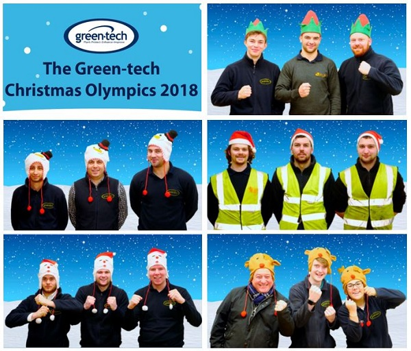 Green-tech hosts Christmas Olympics 2018