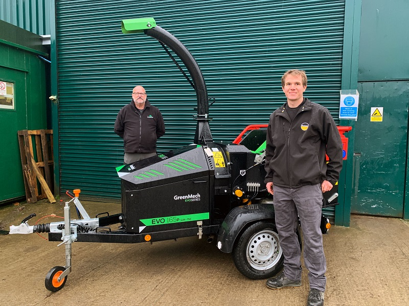 Frank Alviti becomes the newest pin in the GreenMech dealer map