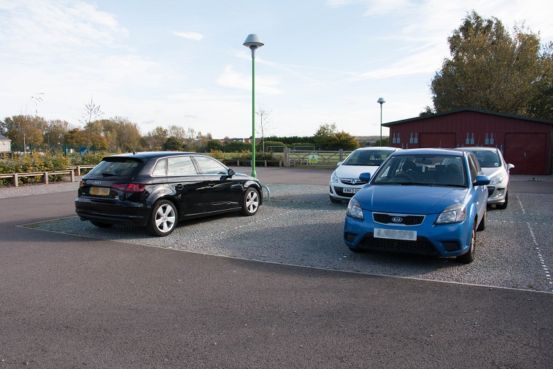 Local community centre car park goes green with SuDS solution