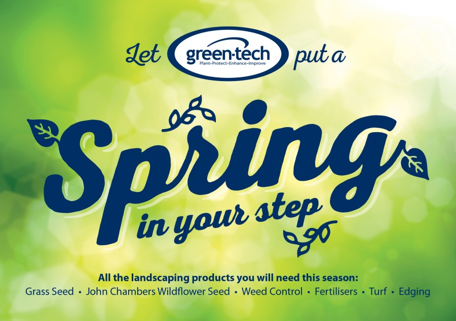 Let Green-tech put a Spring in your step