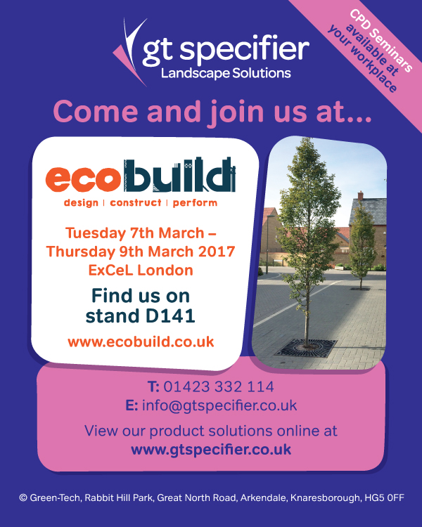 Green-tech showcases their largest stand at Ecobuild