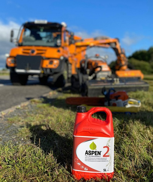 Aspen Fuel boosts the H&S credentials for Green Valley Arborists