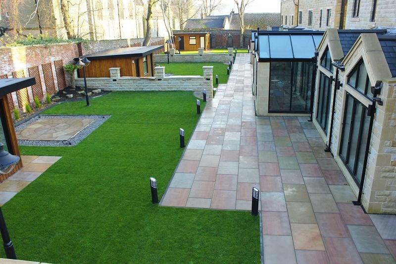Luxury patio inspires new build buyers