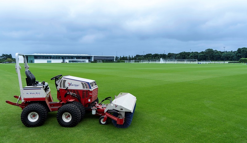 Additional Ventrac attachments maintain Tottenham's world-class training centre
