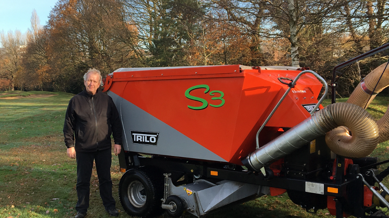 Trilo showcases turf and waste management machinery