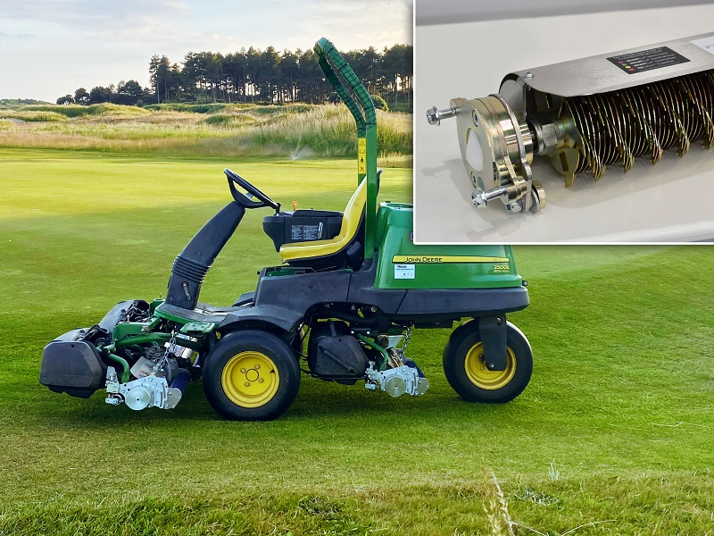 UltraGroomer cassettes satisfy players 'need for speed' at Hillside Golf Club