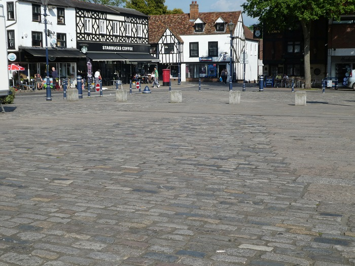 Refurbished paving still looks good as new