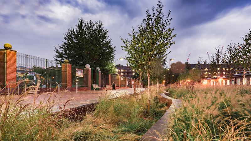 Community rainpark wins top award at Landscape Institute Awards 2017