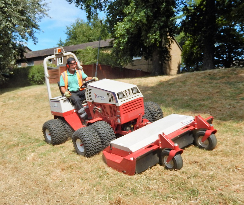 Northampton's green spaces looking good with a little help from Ventrac
