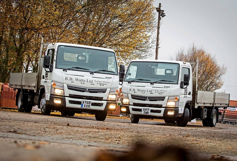 New 3.5-tonne FUSO Canters impress RB Watts