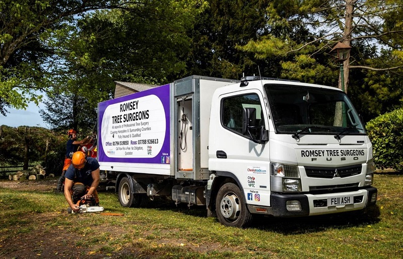 Tree specialist takes on new FUSO Canter