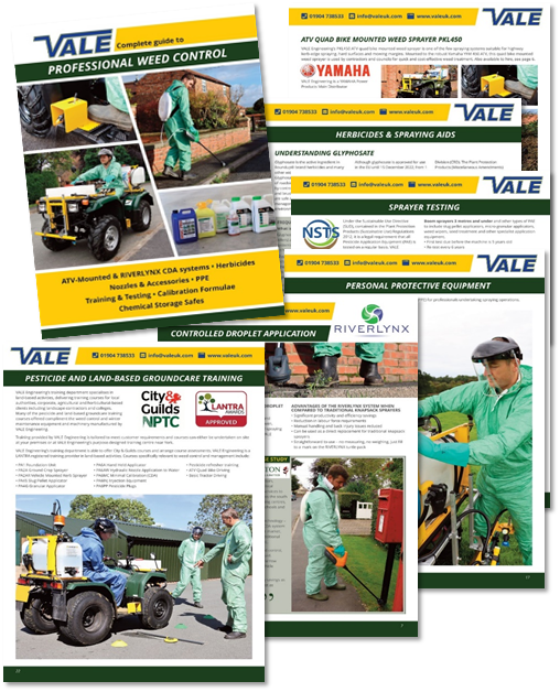 VALE Engineering launch informative new Complete Guide to Professional Weed Control