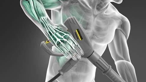 Kärcher works towards eliminating repetitive strain injury