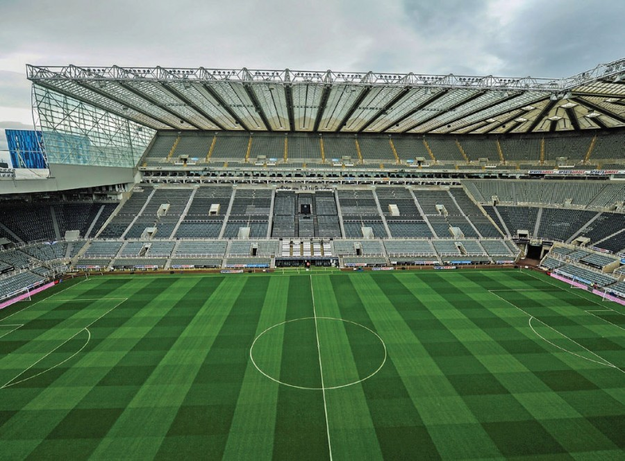 Newcastle pitch features fully automatic controllable irrigation