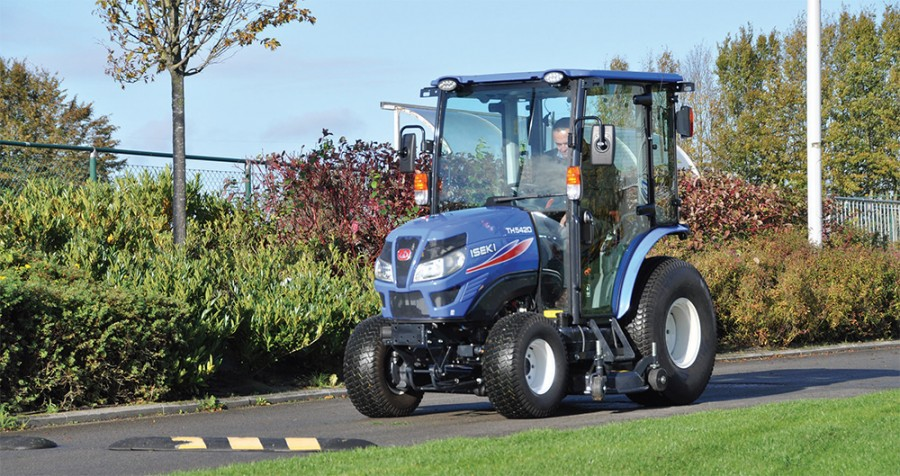 A double launch for ISEKI with new mower and tractor