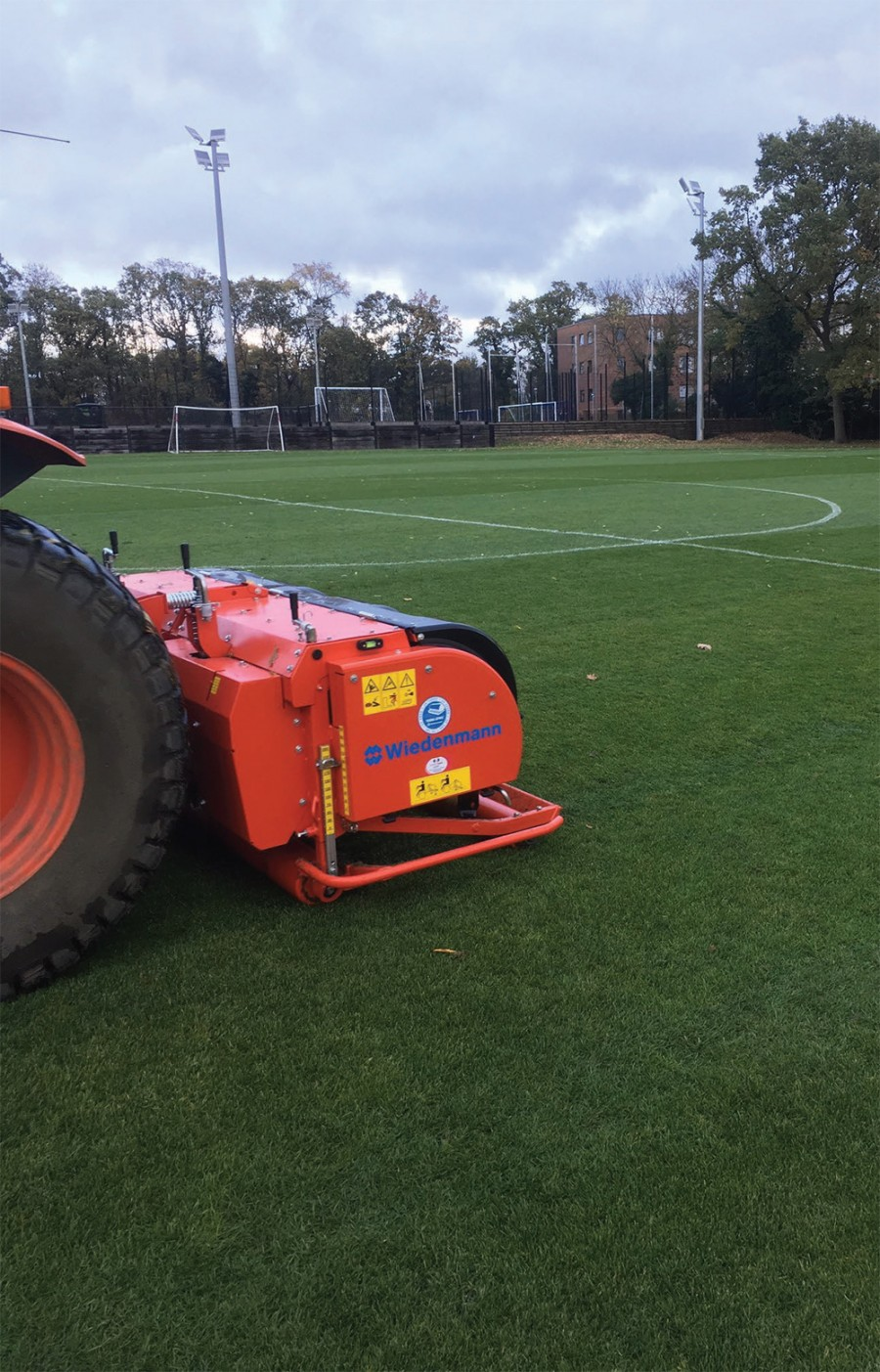 Under-pressure turf professionals look to Wiedenmann for fast accurate aeration