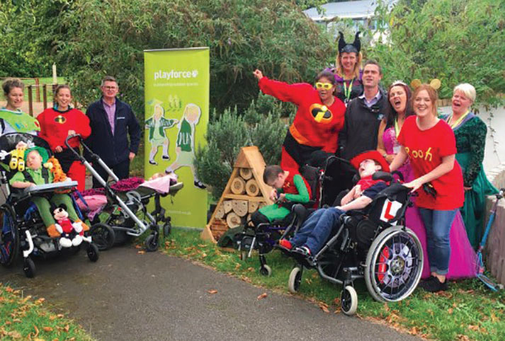 Playforce supports children's hospices across the UK