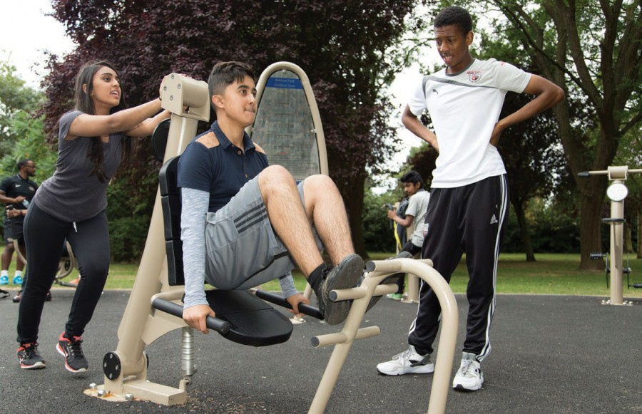 New Proludic outdoor gym takes residents' workouts to the max