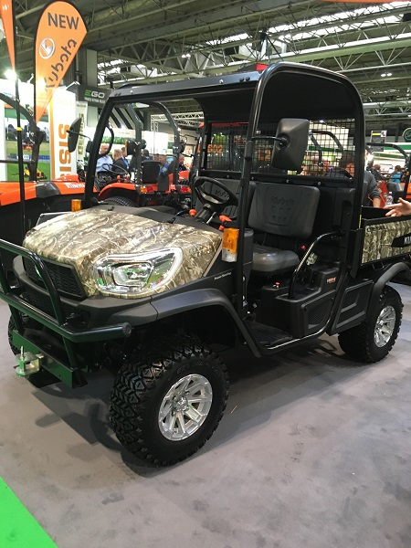 Kubota launches new groundcare machines at SALTEX