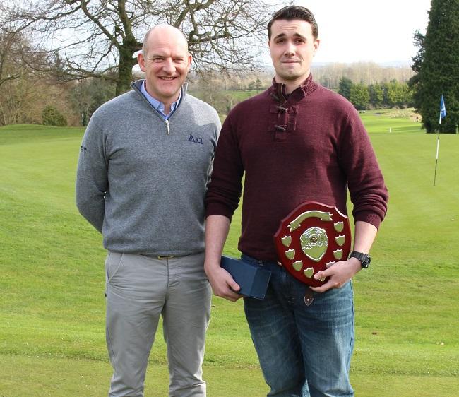 Tiernan Crawford wins Irish Student Greenkeeper of the Year