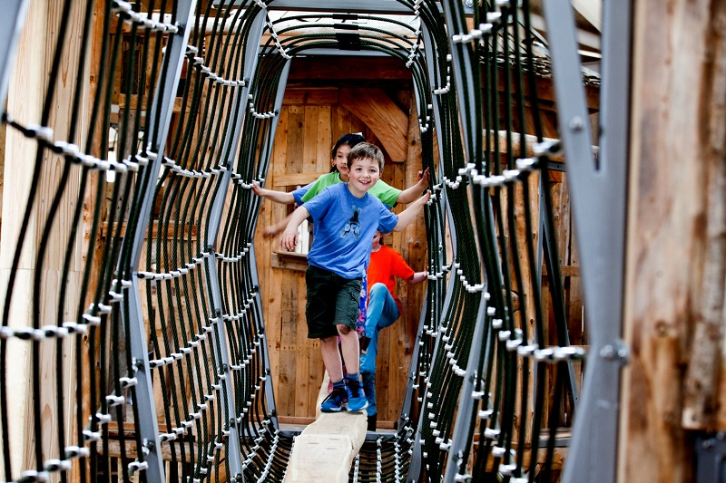 Touchwood Play's bespoke indoor timber play experience