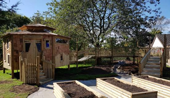 Playscheme wins design award for Jake's Treehouse