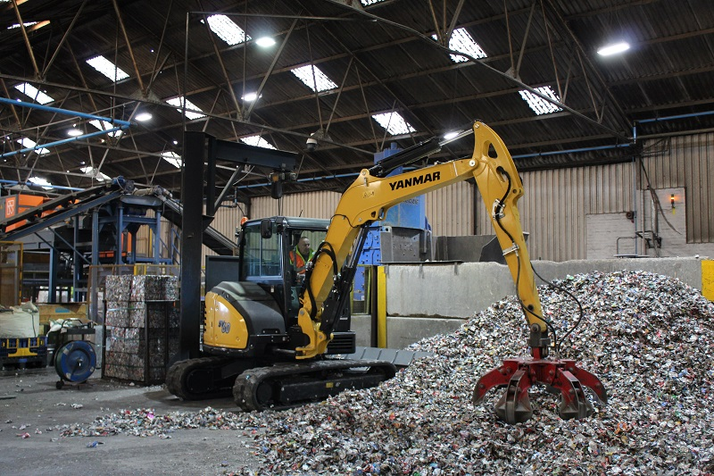 Crushing the competition with Yanmar's SV60 midi excavator