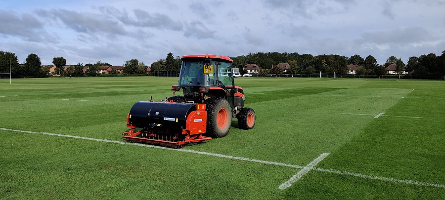 Wiedenmann Terra Spike XF central to new era  at Bishop's Stortford College