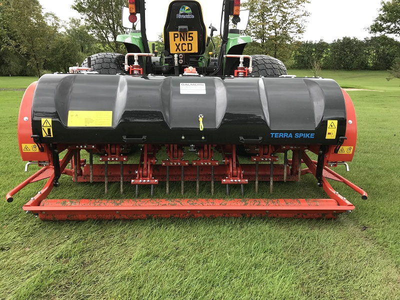 Versatile Wiedenmann Terra Spike GXi 8HD  gives Bentham GC peace of mind