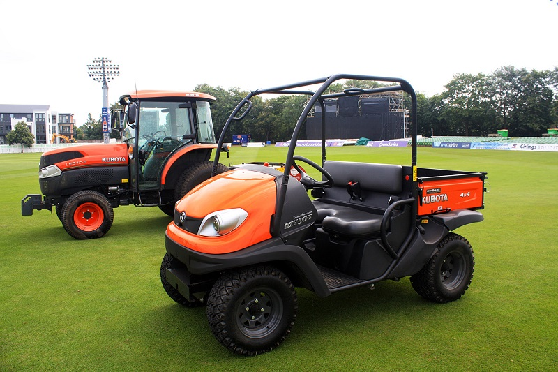 Kent CCC bowled over by Kubota UK and Lister Wilder partnership