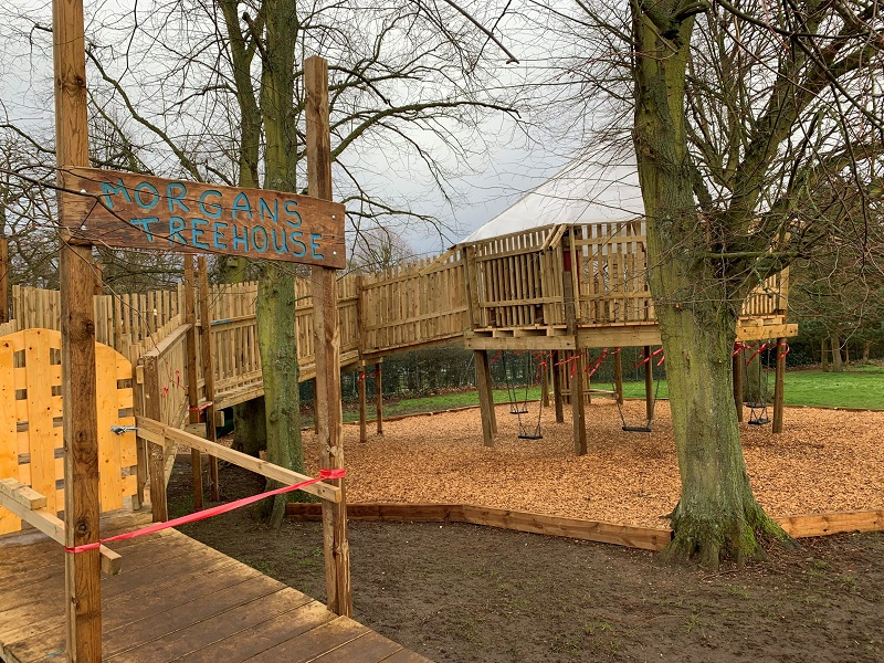 Södra and Lawsons help timber treehouse become a reality