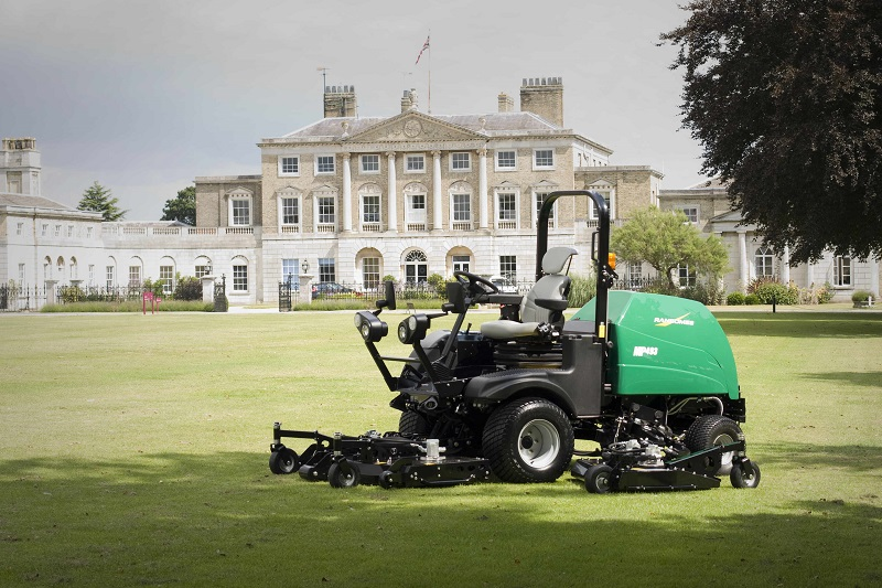 Ransomes batwing rotary mowers are a cut above