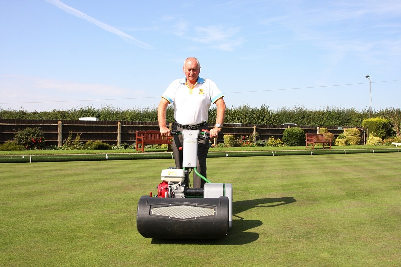 The ultimate mower for Wycliffe Bowls Club