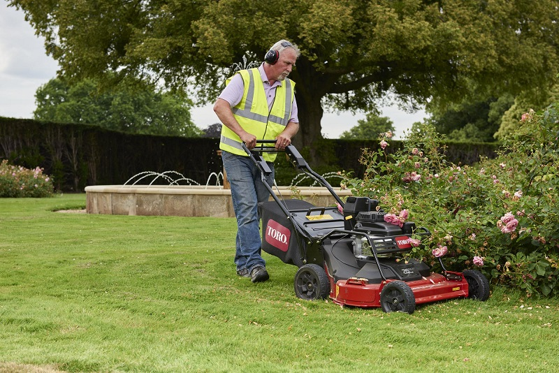 The TurfMaster is in a class of its own
