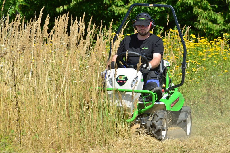 Etesia's Attila 98X ride-on brushcutter