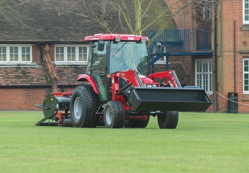 Ipswich School sports new TYM tractor