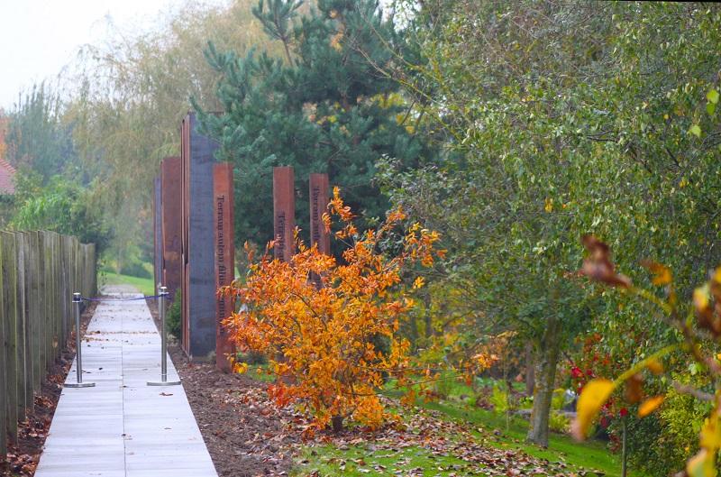 Charcon supplies award-winning Quarry Garden