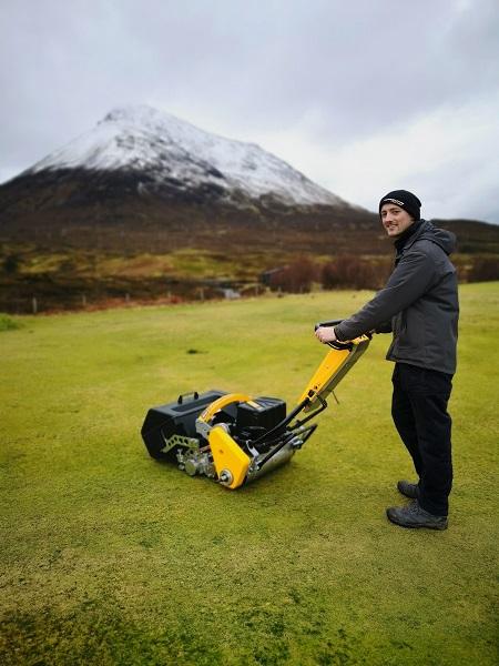 INFINICUT ticks every box for Isle of Skye GC