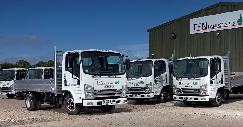 Isuzu Grafter Green proves to be the 'smart' choice