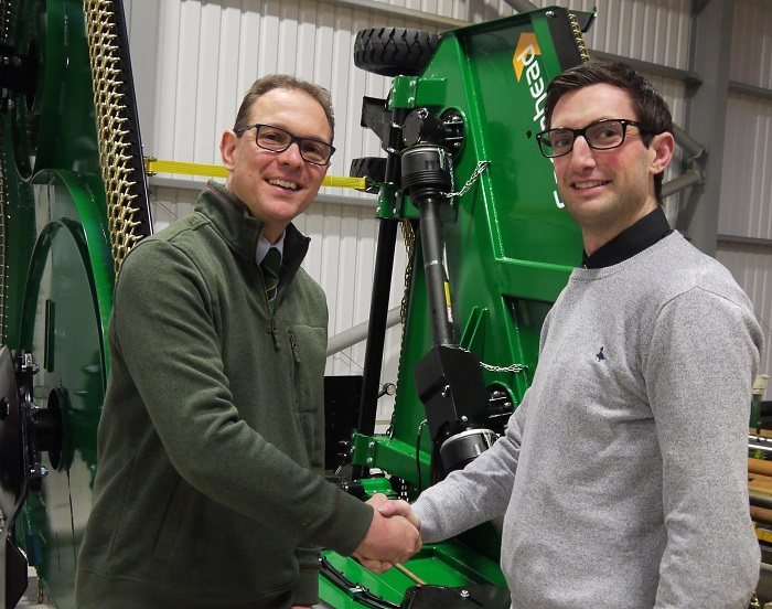 Spearhead Machinery expands UK sales team